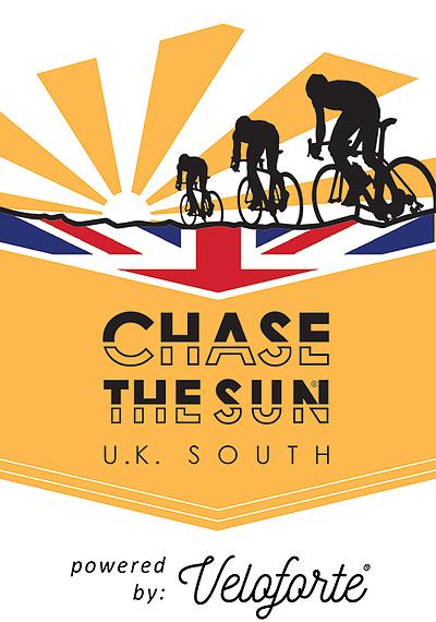 Chase the Sun UK South Badge Chevron Logo