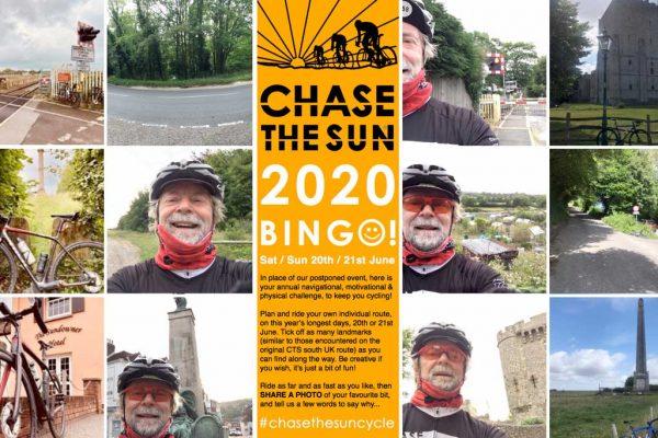 Chase the Sun 2020 Bingo challenge
