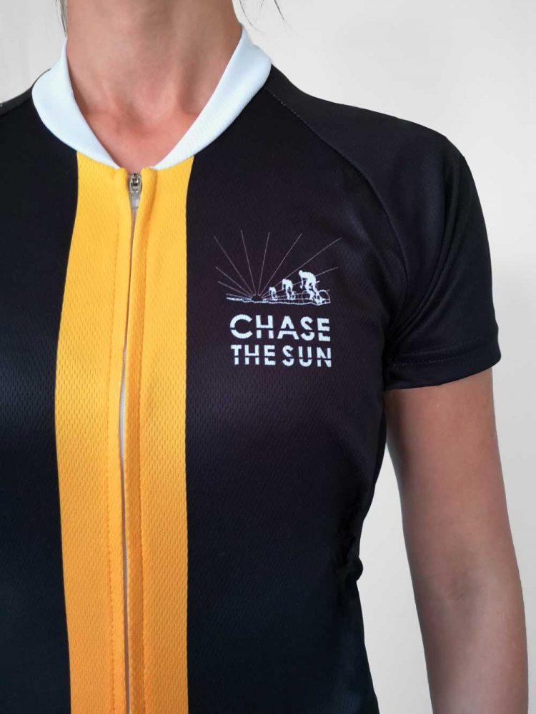 Chase the Sun Jersey front breast female