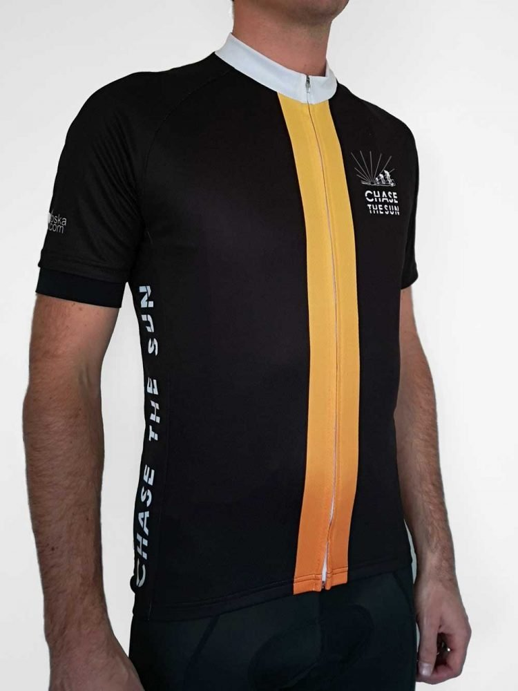 Chase the Sun jersey front male