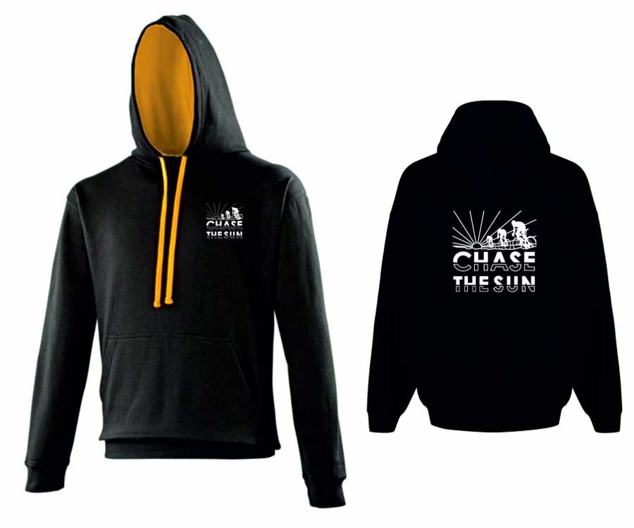 Chase The Sun Stadium Sports Hoodie